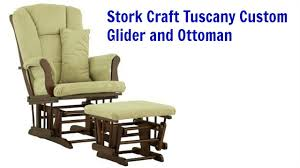 Gliders And Ottomans Stork Craft Tuscany Custom Glider And Ottoman Review Best