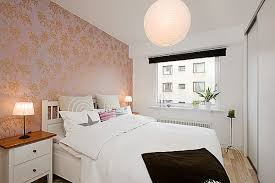 Small Bedroom Ideas To Make Your Home Look Bigger Freshomecom - Ideas for bedroom wallpaper