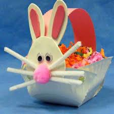 easter bunny baskets 51 easter crafts for kids