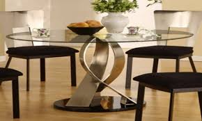 Kitchen Table Decorating Ideas by Staggering Glass Dining Room Table Decorating Ideas Images In