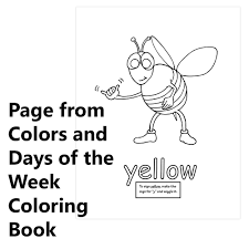 signimalz sign language colors and days of the week book and