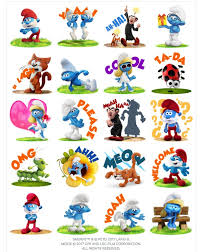 the smurfs facebook stickers for smurfs the lost village just launched
