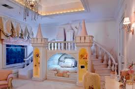 princess bedroom decorating ideas little castle bed