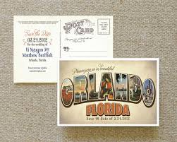 save the date postcard large letter postcard save the date orlando florida