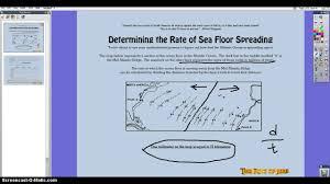 sea floor spreading worksheets u2013 wallpapercraft