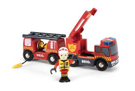 minecraft fire truck brio rescue fire truck 33811 u2013 toot toot toys
