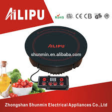 Smallest Induction Cooktop Most Favorite Round Induction Cooker Hotpot Cooktop Line Control