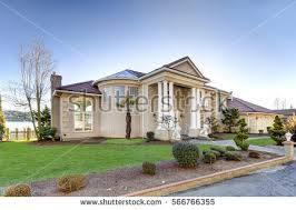 Curb Appeal Usa - house exterior stock images royalty free images u0026 vectors