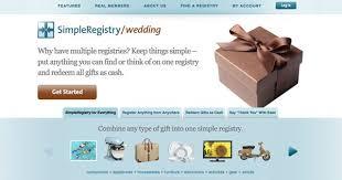 wedding registry combine simpleregistry once wed