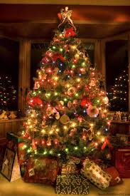 lighted christmas tree garland decoration astounding accessories for living room decoration using