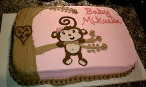 baby shower cakes monkey baby shower cake sayings