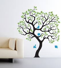 Tree Wall Decals For Nursery Wall Decals Tree Baby Nursery Color The Walls Of Your House