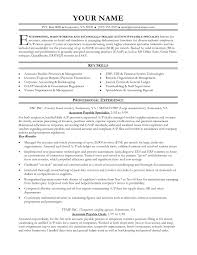 Sample Accounting Resume by 100 Accounting Resume Stunning Manufacturing Accounting