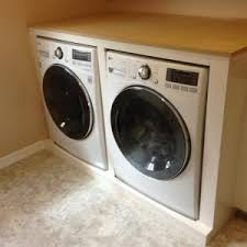 washer and dryer cabinets decor best washer dryer cabinet enclosures for your laundry room