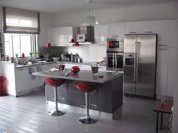 cuisine blanc et grise cuisine americaine blanche et grise photos de design d int rieur