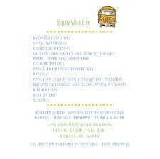 www wish list supply wish list livingston educational service agency
