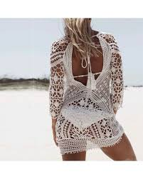 christal crochet beach dress the wild flower shop