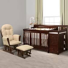 Crib Bed Combo Storkcraft 2 Nursery Set Portofino Convertible Crib