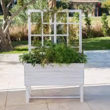 planter boxes trellises hayneedle