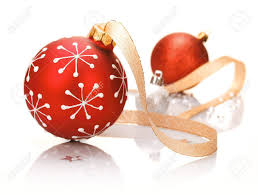 stylish background with a bauble patterned with