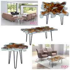 tree ring coffee table ink ivy arcadia naturale coffee table w organic tree ring tops on
