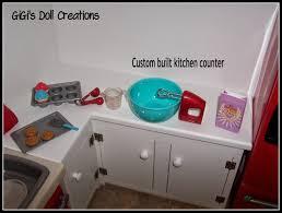 18 inch doll kitchen furniture gigi us doll and craft creations kitchen
