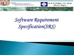 software requirements specification srs ppt download