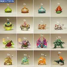 japan sqex toys genuine bulk dragon quest slime monster q edition