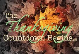 the thanksgiving countdown begins pause then press play