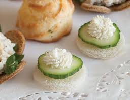 cucumber canapes cucumber cheese canapés teatime magazine