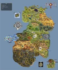 Final Fantasy 6 World Map by Epic 6 World Map With Mob Levels And Location Rappelz Wiki