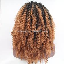 Curly Braiding Hair Extensions by Ombre Kanekalon Braiding Hair Ombre Kanekalon Braiding Hair
