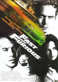 Fast and Furious 1 poster