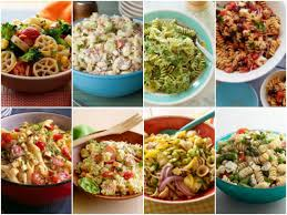 battle of the pasta salads mayo vs no mayo fn dish behind
