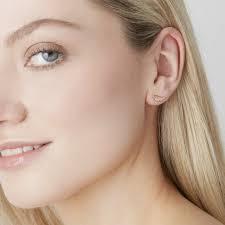 feather stud earrings feather stud earrings gold gold vermeil earrings