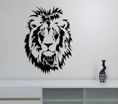 Decoration Kids Wall Decals Home by Popular Lion Head Wall Decoration Kids Buy Cheap Lion Head Wall