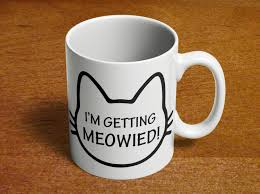 Unusual Mugs by I U0027m Getting Meowied Engagement Announcement Cat Lovers Bridal