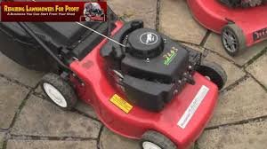 repairing lawn mowers for profit part 51 mountfield sv150 tips