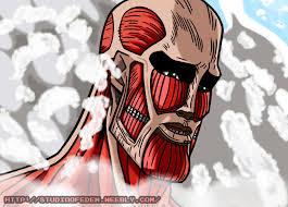 Handsome Face Meme - handsome colossal titan by kazemaruheishi on deviantart