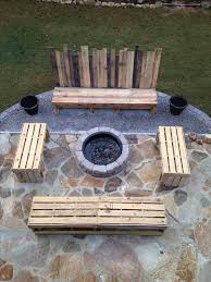 Outdoor Furniture With Fire Pit Table by 25 Best Fire Pit Seating Ideas On Pinterest Backyard Seating