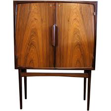 Unique Bar Cabinets Norwegian Mid Century Modern Bar Cabinet In Rosewood Modern Bar