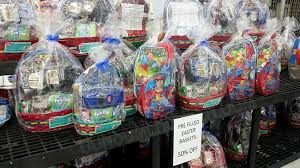 filled easter baskets pre filled easter baskets 5 at walmart grab em while you can