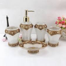 aliexpress com buy homestia resin craft 5pcs bathroom sets