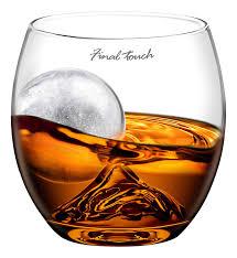 cadeau autour du whisky jeray gs300 final touch on the rocks verre à whisky amazon fr