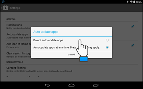 how to update apps android how to disable automatic app updates in android