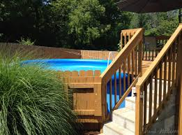 landscaping astonishing above ground pool landscaping for cool