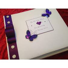 handmade wedding albums beautiful large butterfly wedding album carrole
