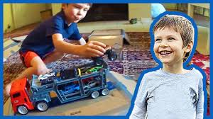 tyco rc grave digger monster truck how to make a monster truck arena for children youtube
