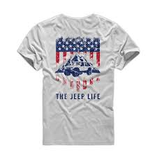 jeep life logo the jeep life vintage american flag short sleeve t shirt the