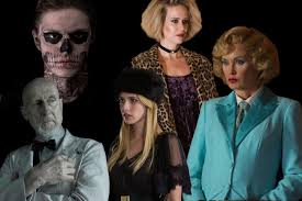 how does american horror story tie together today u0027s news our